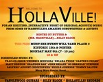 August Christopher with Trailer Choir Welcome To Hollaville Flyer