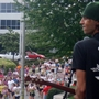 Criss Cheatham of August Christopher performing at Nashville Music City Marathon